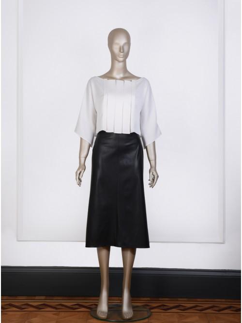 Long Bell-Shaped Skirt